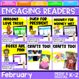 SEESAW Engaging Readers February Books