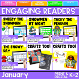 SEESAW Engaging Readers January Books