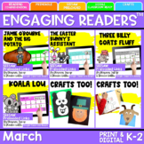 SEESAW Engaging Readers March Books