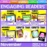 SEESAW Engaging Readers November Books