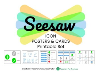 SEESAW ICON CARDS AND POSTER PRINTABLE