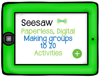 SEESAW Numbers to 20 grouping emojis activities