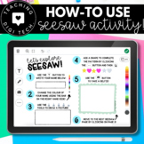 How to Use SEESAW for Students - ALL TOOLS & FEATURES - Ba