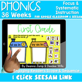 SEESAW Preloaded | First Grade Phonics Bundle