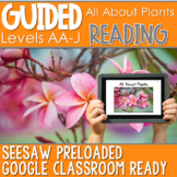 SEESAW Preloaded Guided Reading Nonfiction | All About Plants