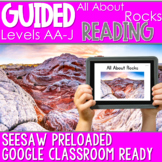 SEESAW Preloaded Guided Reading Nonfiction | All About Rocks