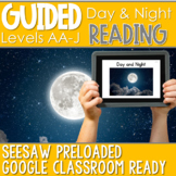 SEESAW Preloaded Guided Reading Nonfiction | Day and Night