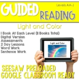 SEESAW Preloaded Guided Reading Nonfiction | Light and Color