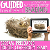 SEESAW Preloaded Guided Reading Nonfiction | Living and Nonliving Things