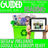 SEESAW Preloaded Guided Reading Nonfiction | Reduce, Reuse, Recycle