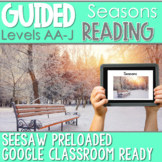 SEESAW Preloaded Guided Reading Nonfiction | Seasons
