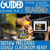 SEESAW Preloaded Guided Reading Nonfiction   Solids Liquids and Gases
