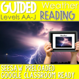 SEESAW Preloaded Guided Reading Nonfiction | Weather