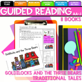 SEESAW Preloaded/Printable Goldilocks and the Three Bears Guided Reading  AA-J