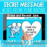 SEESAW Preloaded Secret Message   June