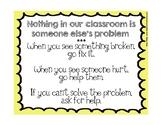 SEFEL Classroom Posters