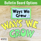 SEL Activity and Bulletin Board: Student Strengths and Areas for Growth