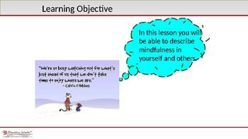SEL - Applying Mindfulness Lesson