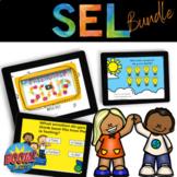 SEL Boom Cards Bundle: Healthy Friendships, Emotions, Manage Stress
