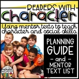 SEL/Character Education - Readers With Character Book List