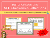 SEL Check-In Interactive Notebook | Distance Learning Goog