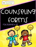SEL Counseling Forms - Bilingual