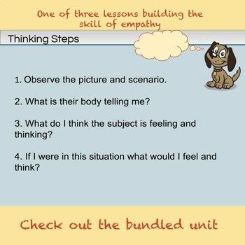 6th Grade Empathy Lesson 1- Identify Empathy