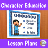 Character Education Respect Unit Plan