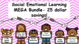 SEL Mega Bundle- Save 25 dollars! 5 full lesson plans and 300+ task cards