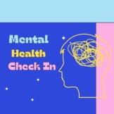 SEL Mental Health Check In