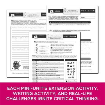 SEL & Mental Health FULL YEAR Middle School Bundle | Prezis & Printables