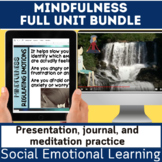 SEL Mindfulness Full Unit Bundle