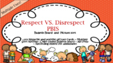 SEL-PBIS Positive and Negative behavior Picture sort and b