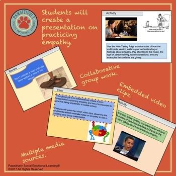 6th Grade Empathy Lesson 2 - Practice Empathy Activity