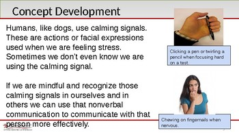 SEL - Recognizing Calming Signals in Humans
