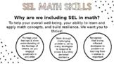 SEL SKILLS ONTARIO MATH CURRICULUM 2020, EDITABLE, SOCIAL