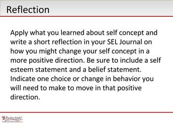SEL - Self Concept