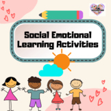SEL Social Emotional Learning Printable Activities   Assor