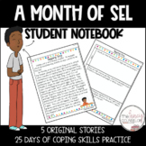 Coping Skills Student Notebook Social Emotional Learning 5 Stories