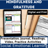 Social and Emotional Learning | SEL | Mindfulness Gratitud