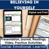 Social and Emotional Learning | SEL | Believe in Yourself