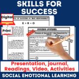 SEL Success Skills Full Unit Bundle | Distance Learning
