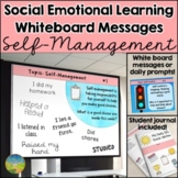 Social Emotional Learning Daily Prompts for Self-Managemen