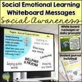 Social Emotional Learning Daily Prompts for Social Awarene