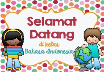 SELAMAT DATANG - Welcome Sign