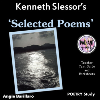 SELECTED POEMS - KENNETH SLESSOR - WORKSHEETS
