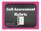 SELF ASSESSMENT RUBRIC - CHALKBOARD THEME