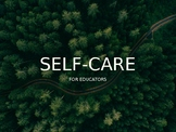 SELF-CARE FOR EDUCATORS POWERPOINT