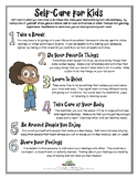 SELF-CARE FOR KIDS (Stress & Anxiety)