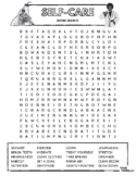 SELF CARE - Therapy Word Search Puzzle (Self Improvement &